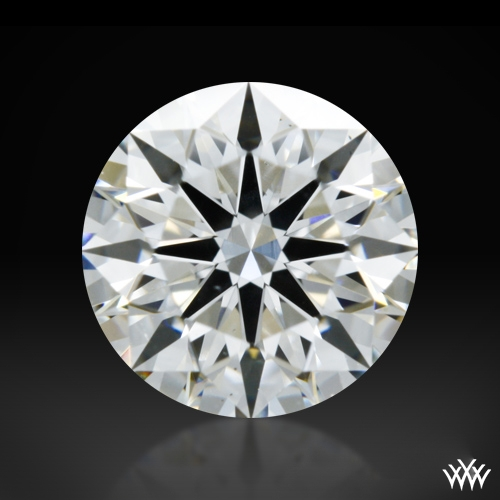 0.815 ct G SI1 A CUT ABOVE® Hearts and Arrows Super Ideal Round Cut Loose Diamond