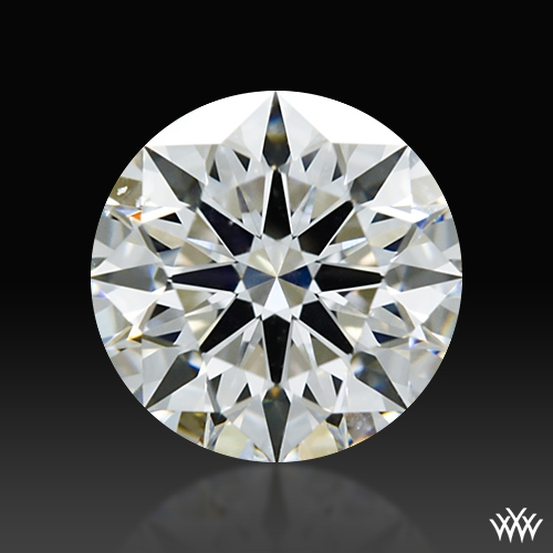 0.778 ct G SI1 A CUT ABOVE® Hearts and Arrows Super Ideal Round Cut Loose Diamond