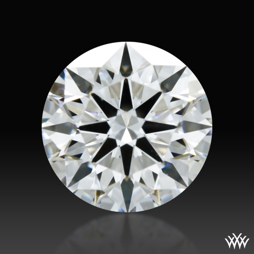 0.707 ct F VS2 A CUT ABOVE® Hearts and Arrows Super Ideal Round Cut Loose Diamond