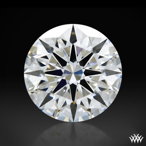 0.814 ct F VVS1 A CUT ABOVE® Hearts and Arrows Super Ideal Round Cut Loose Diamond