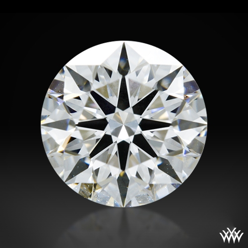 0.77 ct E VVS1 A CUT ABOVE® Hearts and Arrows Super Ideal Round Cut Loose Diamond