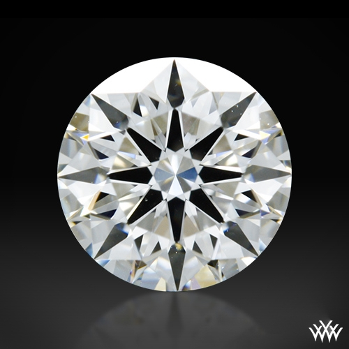 0.716 ct F VVS1 A CUT ABOVE® Hearts and Arrows Super Ideal Round Cut Loose Diamond