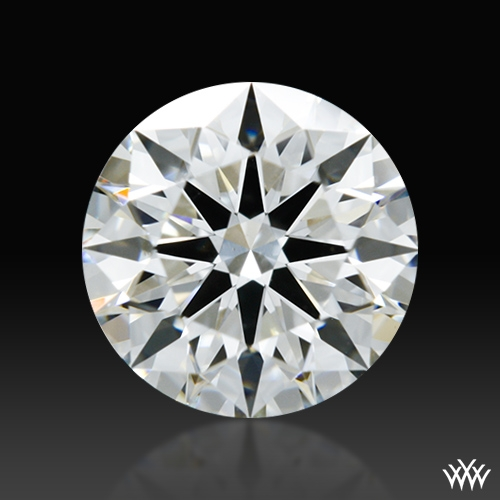 0.794 ct H VS1 A CUT ABOVE® Hearts and Arrows Super Ideal Round Cut Loose Diamond