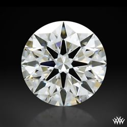 0.325 ct H SI1 A CUT ABOVE® Hearts and Arrows Super Ideal Round Cut Loose Diamond