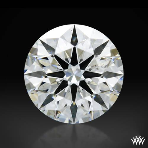 0.345 ct G SI1 A CUT ABOVE® Hearts and Arrows Super Ideal Round Cut Loose Diamond
