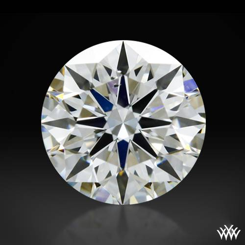0.302 ct H SI1 A CUT ABOVE® Hearts and Arrows Super Ideal Round Cut Loose Diamond