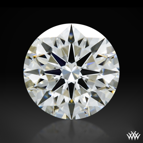 0.307 ct G SI2 A CUT ABOVE® Hearts and Arrows Super Ideal Round Cut Loose Diamond