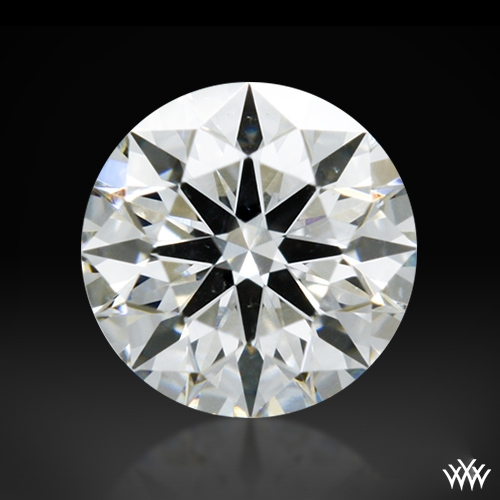 0.345 ct H SI1 A CUT ABOVE® Hearts and Arrows Super Ideal Round Cut Loose Diamond