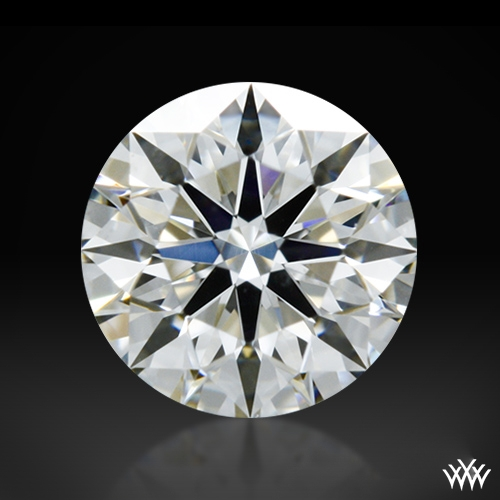 0.347 ct H SI1 A CUT ABOVE® Hearts and Arrows Super Ideal Round Cut Loose Diamond