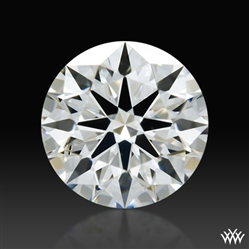 0.386 ct H VS2 A CUT ABOVE® Hearts and Arrows Super Ideal Round Cut Loose Diamond
