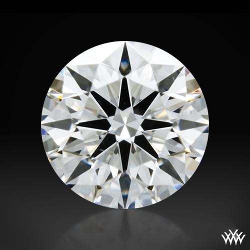0.313 ct G SI1 A CUT ABOVE® Hearts and Arrows Super Ideal Round Cut Loose Diamond