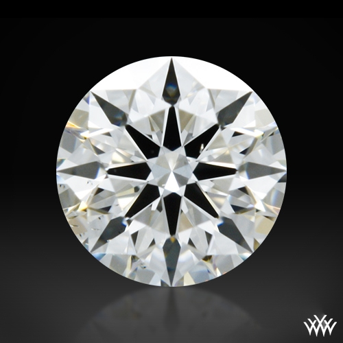 0.312 ct H SI1 A CUT ABOVE® Hearts and Arrows Super Ideal Round Cut Loose Diamond