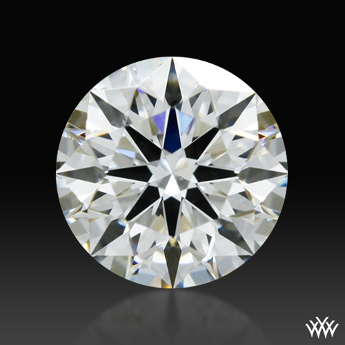 0.381 ct H VS2 A CUT ABOVE® Hearts and Arrows Super Ideal Round Cut Loose Diamond