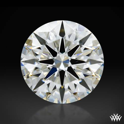 0.308 ct H SI1 A CUT ABOVE® Hearts and Arrows Super Ideal Round Cut Loose Diamond