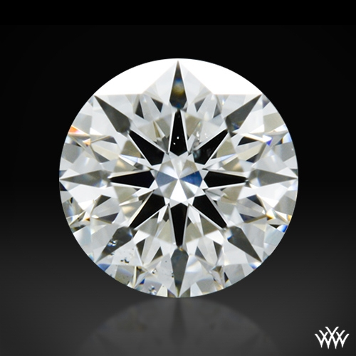 0.343 ct H SI1 A CUT ABOVE® Hearts and Arrows Super Ideal Round Cut Loose Diamond