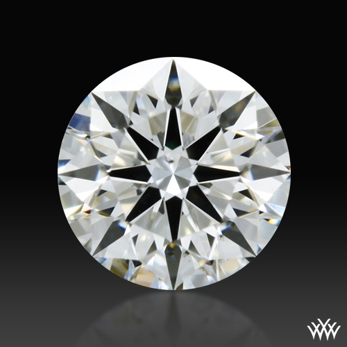 0.296 ct H VS2 A CUT ABOVE® Hearts and Arrows Super Ideal Round Cut Loose Diamond