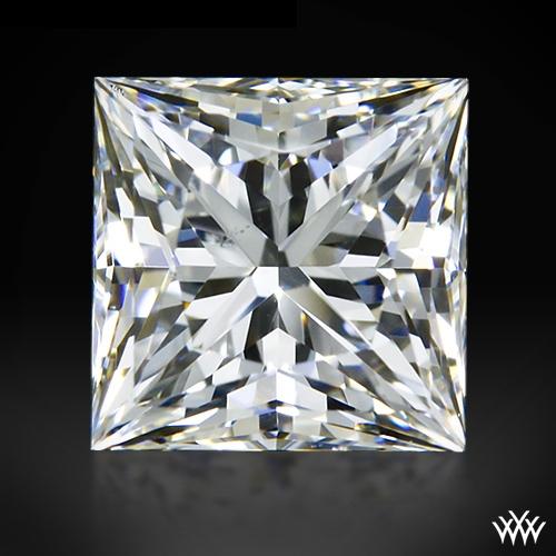0.948 ct G VS2 A CUT ABOVE® Princess Super Ideal Cut Diamond