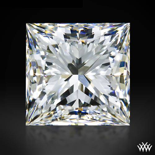 1.004 ct H VS1 A CUT ABOVE® Princess Super Ideal Cut Diamond