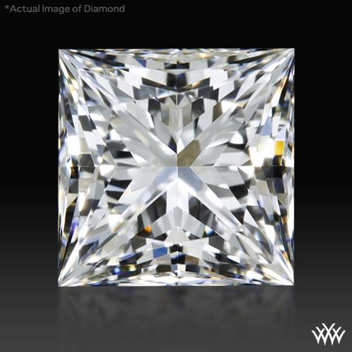 1.11 ct F VS1 A CUT ABOVE® Princess Super Ideal Cut Diamond
