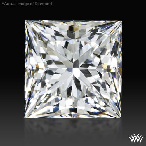 1.448 ct G VS2 A CUT ABOVE® Princess Super Ideal Cut Diamond