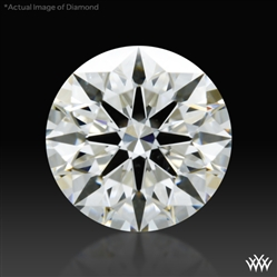 0.744 ct G SI1 A CUT ABOVE® Hearts and Arrows Super Ideal Round Cut Loose Diamond