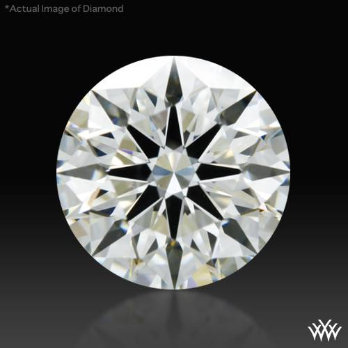 0.84 ct J VS2 A CUT ABOVE® Hearts and Arrows Super Ideal Round Cut Loose Diamond