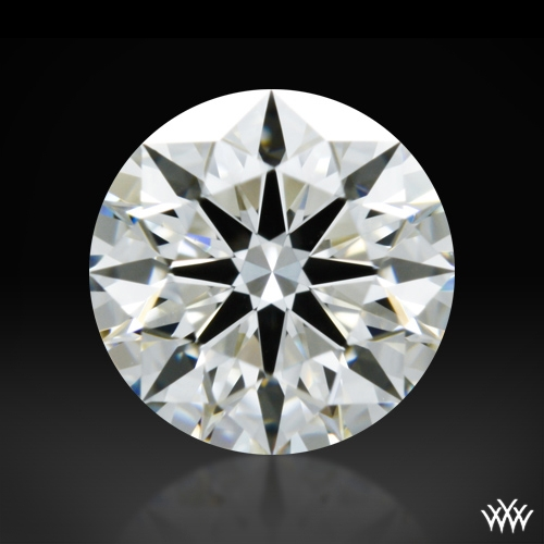 0.732 ct H VS1 A CUT ABOVE® Hearts and Arrows Super Ideal Round Cut Loose Diamond