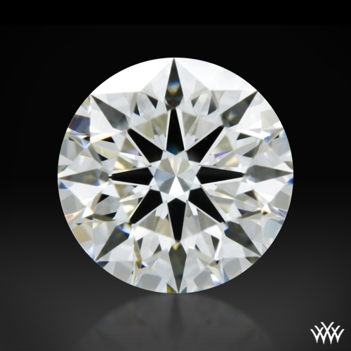 0.718 ct I VS1 A CUT ABOVE® Hearts and Arrows Super Ideal Round Cut Loose Diamond