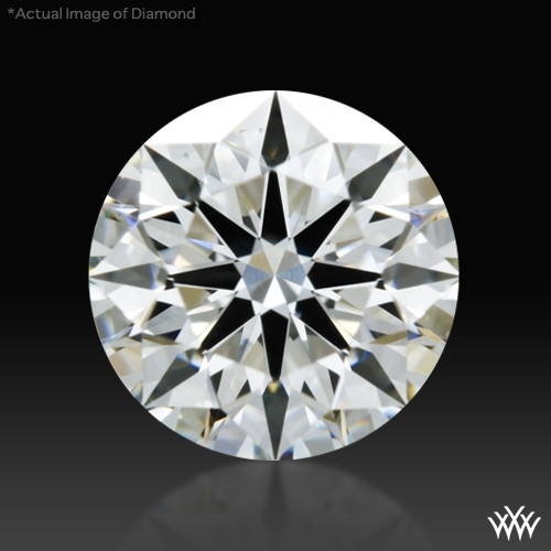 0.766 ct H VS2 A CUT ABOVE® Hearts and Arrows Super Ideal Round Cut Loose Diamond