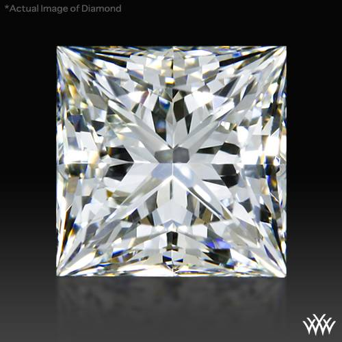 0.688 ct H VS2 A CUT ABOVE® Princess Super Ideal Cut Diamond