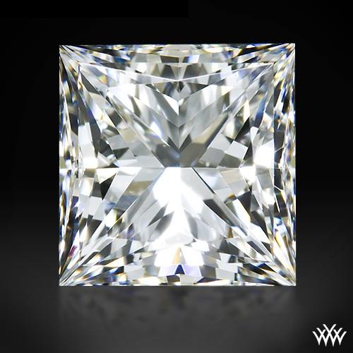 1.198 ct G VVS2 A CUT ABOVE® Princess Super Ideal Cut Diamond