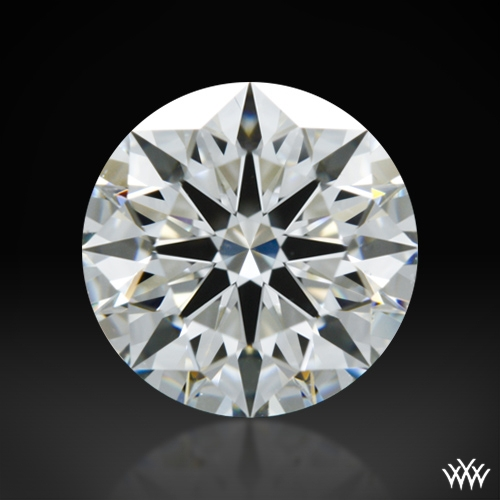1.085 ct G VS2 A CUT ABOVE® Hearts and Arrows Super Ideal Round Cut Loose Diamond