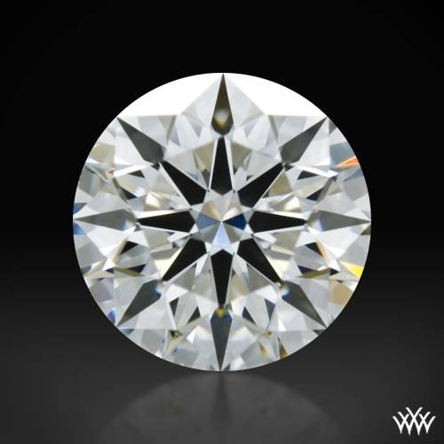 1.011 ct G VS2 A CUT ABOVE® Hearts and Arrows Super Ideal Round Cut Loose Diamond