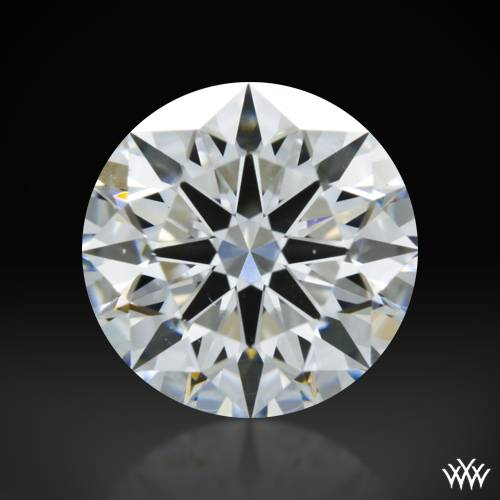 1.017 ct F VS2 A CUT ABOVE® Hearts and Arrows Super Ideal Round Cut Loose Diamond