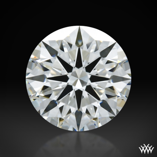 1.003 ct H VS1 A CUT ABOVE® Hearts and Arrows Super Ideal Round Cut Loose Diamond