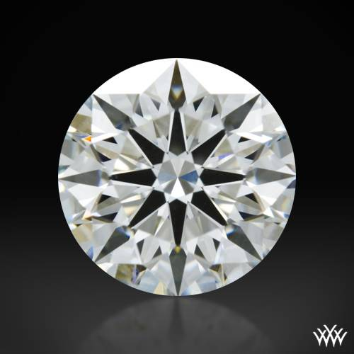 1.11 ct H VS1 A CUT ABOVE® Hearts and Arrows Super Ideal Round Cut Loose Diamond