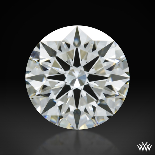 1.007 ct H VS2 A CUT ABOVE® Hearts and Arrows Super Ideal Round Cut Loose Diamond