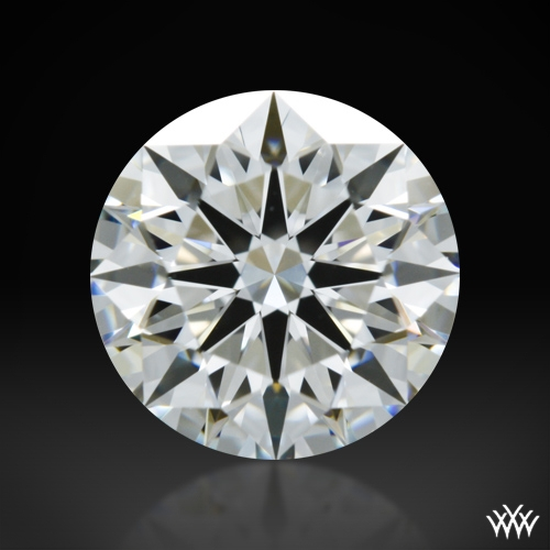 1.115 ct H VVS2 A CUT ABOVE® Hearts and Arrows Super Ideal Round Cut Loose Diamond
