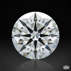 1.267 ct D VS1 A CUT ABOVE® Hearts and Arrows Super Ideal Round Cut Loose Diamond
