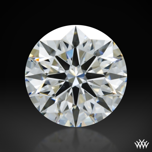 1.214 ct E VS2 A CUT ABOVE® Hearts and Arrows Super Ideal Round Cut Loose Diamond