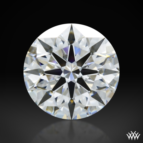 0.803 ct D VS2 A CUT ABOVE® Hearts and Arrows Super Ideal Round Cut Loose Diamond