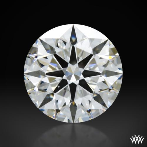 0.802 ct E VS2 A CUT ABOVE® Hearts and Arrows Super Ideal Round Cut Loose Diamond