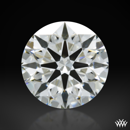 0.408 ct H VVS2 A CUT ABOVE® Hearts and Arrows Super Ideal Round Cut Loose Diamond