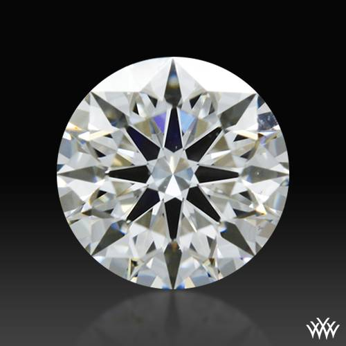 0.463 ct H VS2 A CUT ABOVE® Hearts and Arrows Super Ideal Round Cut Loose Diamond