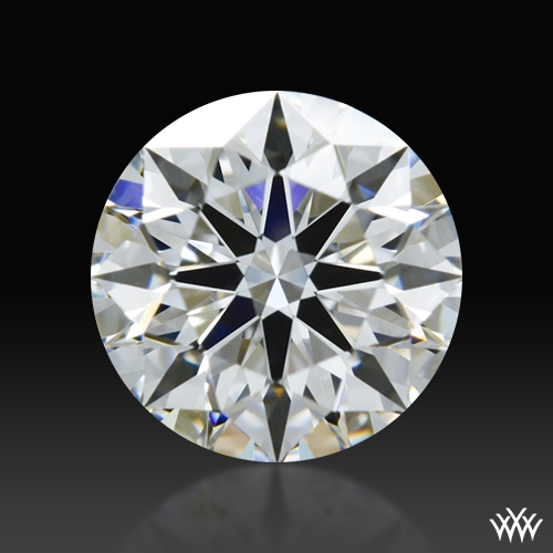 0.611 ct E VS2 A CUT ABOVE® Hearts and Arrows Super Ideal Round Cut Loose Diamond