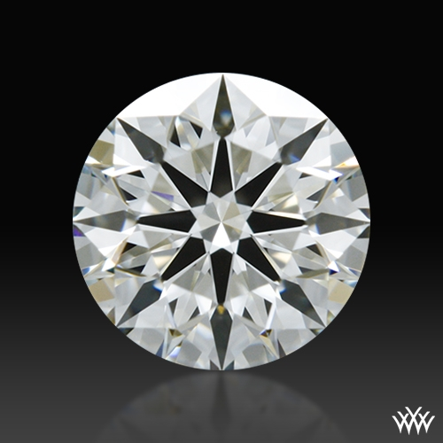 0.585 ct H VS1 A CUT ABOVE® Hearts and Arrows Super Ideal Round Cut Loose Diamond