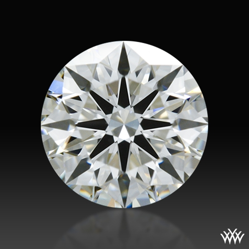 0.507 ct H VVS2 A CUT ABOVE® Hearts and Arrows Super Ideal Round Cut Loose Diamond