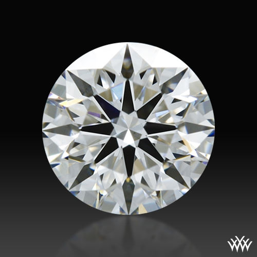 0.647 ct F VS2 A CUT ABOVE® Hearts and Arrows Super Ideal Round Cut Loose Diamond