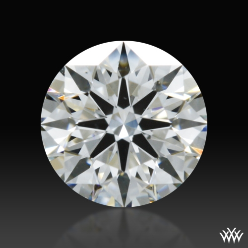 0.308 ct F VS1 A CUT ABOVE® Hearts and Arrows Super Ideal Round Cut Loose Diamond