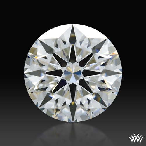 0.91 ct E VS1 A CUT ABOVE® Hearts and Arrows Super Ideal Round Cut Loose Diamond